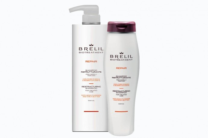 Шампунь восстанавливающий Brelil Biotreatment Repair, цена | Фото